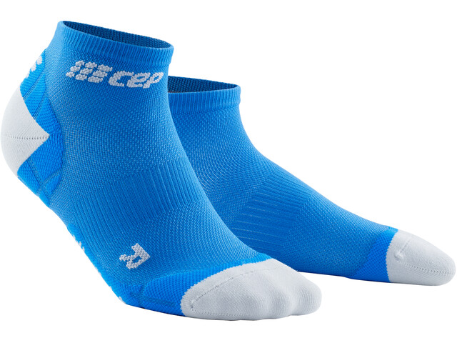 cep Ultralight Calcetines Corte Bajo Hombre, electric blue/light grey